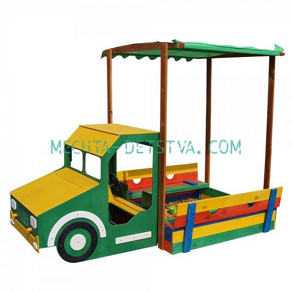 Песочница грузовик №16