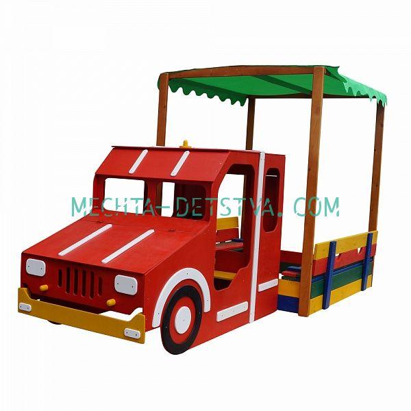 Песочница - Пожарная машина №17